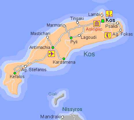 Driving holiday in Kos - visit major tourist attractions of ...